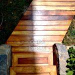 Emirgan'da Bir evin Bahçesi Deck Döşeme