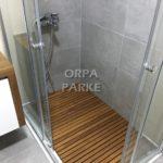 Duş-banyo içi ahşap ızgara